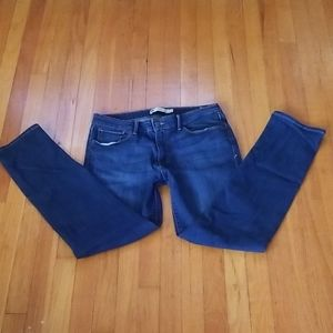 LEVI'S MID RISE SKINNY JEANS, SIZE 14